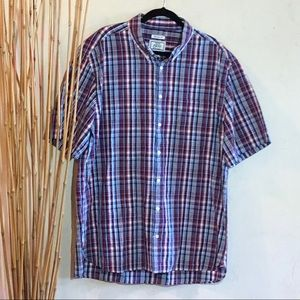 Jos. A. Bank tailored fit plaid shirt sleeve 2XLT